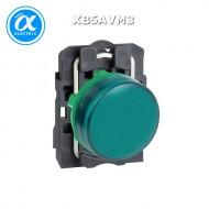 [슈나이더]XB5AVM3 /파일럿램프/플라스틱 베젤 AC220V 녹색