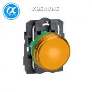 [슈나이더]XB4BVM5 /파일럿램프/메탈 베젤 AC220V 황색