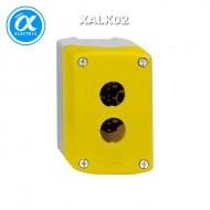 [슈나이더]XALK02 /스위치박스 2구 황색