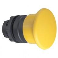 [슈나이더]ZB5AC5 /푸쉬버튼 스위치/플라스틱 베젤 버섯형 Φ40 황색