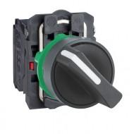 [슈나이더]XB5AD21 /셀렉터 스위치/플라스틱 베젤 일체형 2단 1A접점