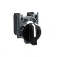 [슈나이더]XB4BD33 /셀렉터 스위치/메탈 베젤 일체형 3단 2A접점