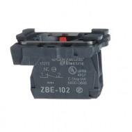 [슈나이더]ZB5AZ102 /스위치 구성품/플라스틱 베젤 하부 1B접점/하모니 XB5