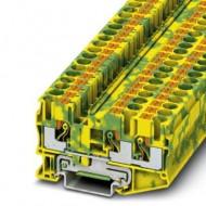 [피닉스컨택트] 3211498 /접지 모듈형 단자대 PT 6-TWIN-PE/[구매단위:1패키지=50개]