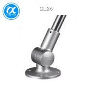[큐라이트] SL24 / 액세서리/ 알루미늄 재질 타워램프 원형취부대 / 회전각도 조절(15도 간격)