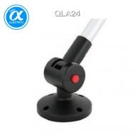 [큐라이트] QLA24 / 액세서리 / PC재질 타워램프 원형취부대 / 회전각도 조절(0도,45도,90도)