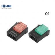 [삼원ACT] EC-4P46YE / 플러그 콘넥터(EZ-Clamp) / 4P-황색(YELLOW)-숫놈 / [구매단위:1팩=100개]