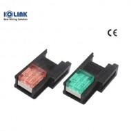 [삼원ACT] EC-4S02BU / 소켓 콘넥터(EZ-Clamp) / 4P-청색(BLUE)-암놈 / [구매단위:1팩=100개]