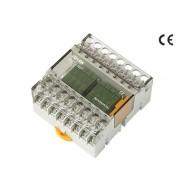 [삼원ACT]R8T-24V /소형릴레이보드/PANASONIC Relay, 8점(4점+4점) 릴레이보드