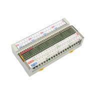 [삼원ACT]R32T-NS5A-40P /소형릴레이보드/PANASONIC Relay, 32점형, 입력 및 출력 양단 단자대 부착형