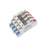 [삼원ACT]R4A-DC24VC /대형릴레이보드/4점형 접점용량10A, 1C접점 DC24V PANASONIC AHN Power릴레이 장착