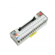 [삼원ACT]XTB-ME1 /인터페이스 단자대/MITSUBISH PLC iQ-R, Q, A1S 시리즈 32점 PLC전용 I/O 인터페이스 단자대
