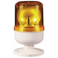 [큐라이트] S80LRK / 소형경고등 / Ø80 LED 반사경 회전 경고등