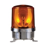 [큐라이트] S150R-FT / 대형경고등 / Ø150 전구 반사경 회전 경고등