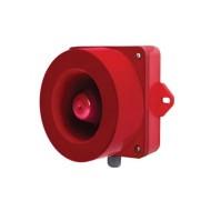 [큐라이트] QWH35SD /벽 부형 특수 경고음 전자 혼/ 115dB / MP3(SD Card) 겸용