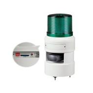 [큐라이트] STND100L / 신호음 내장 다기능형 점등.점멸등&전자 혼 / Max.105dB