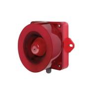 [큐라이트] QWCD50 / 신호음 내장  LED 스트로브 표시등&전자 혼 / Max.123dB