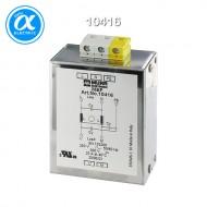[무어] 10416 / EMC 필터 / MEF EMC-FILTER 1-PHASE 1-STAGE / I:20A U:250 VAC/300 VDC snap on / Universal filter
