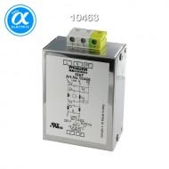 [무어] 10463 / EMC 필터 / MEF EMC-FILTER 1-PHASE 2-STAGE / I:4A U:250 VAC/300 VDC snap on / Against symmetrical interference
