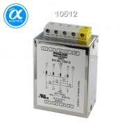 [무어] 10512 / EMC 필터 / MEF EMC-FILTER 3-PHASE 1-STAGE WITH NEUTRAL / I:10A U:4x440 VAC snap on