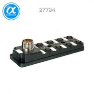 [무어] 27784 / M12 분배시스템/모듈 / MVP12, 8XM12, 5POLE, M23 19POL. CON. / Connector exit frontside