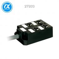 [무어] 27833 / M12 분배시스템/모듈 / PASSIVE-DI0° PLASTIC,4XM12,5POL,PRE-WIRED CABLE / 5.0m PUR-JB 8*0,34+3*0,75
