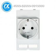 [무어] 4000-68000-0010000 / 판넬 전면 인터페이스 - 인서트 / MODLINK MSDD SOCKET INSERT GERMANY / 250VAC/16A with LED yellow
