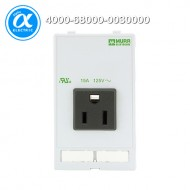[무어] 4000-68000-0030000 / 판넬 전면 인터페이스 - 인서트 / MODLINK MSDD SOCKET INSERT USA NEMA 5-15 / 125VAC/15A soldering connection