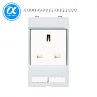 [무어] 4000-68000-0060000 / 판넬 전면 인터페이스 - 인서트 / MODLINK MSDD SOCKET INSERT GREAT BRITAIN / 250VAC/13A