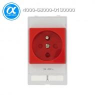 [무어] 4000-68000-0130000 / 판넬 전면 인터페이스 - 인서트 / MODLINK MSDD SOCKET INSERT FRANCE / 250VAC/16A red
