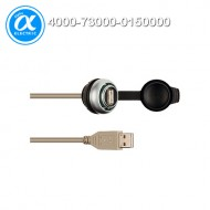 [무어] 4000-73000-0150000 / 인터페이스 - 관통형 / MSDD PASS-THROUGH USB 3.0 FORM A, 0.6M / 관통형 - 1× USB 3.0 (female/male/0.6 m cable) form A