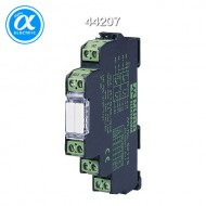 [무어] 44207 / 액티브 인터페이스 - 아날로그 컨버터 / MMW ANALOG COUPLER COMPONENT / IN:-10..+10V/(0)4..20 mA - OUT:0..10V/(0)4..20 mA / 12,4 mm screw-type terminal / Analog-converter