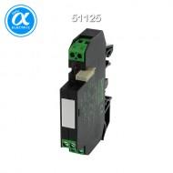 [무어] 51125 / 릴레이 모듈 / RMMDU 11/24 VAC/DC OUTPUT RELAY / IN: 24 VAC/DC - OUT: 250 VAC/DC / 8 A / 1 C/O contact - 12 mm screw-type terminal
