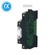 [무어] 52004 / 릴레이 모듈 / MIRO 6.2 24VDC-1S INPUT RELAY / IN: 24 VDC - OUT: 250 VAC/DC / 6 A / 1 N/O contact - 6,2 mm screw-type terminal