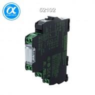 [무어] 52102 / 릴레이 모듈 / MIRO 12.4 24VDC-2U OUTPUT RELAY / IN: 24 VDC - OUT: 250 VAC/DC / 6 A / 2 C/O contact - 12,4 mm screw-type terminal