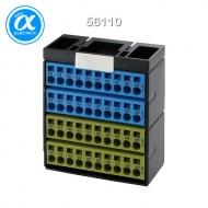 [무어] 56110 / Cube20/액세서리 / POTENTIAL TERMINAL BLOCK BLUE YELLOW / BLUE YELLOW