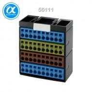 [무어] 56111 / Cube20/액세서리 / POTENTIAL TERMINAL BLOCK BL.YELL.BR.BL / BL.YELL.BR.BL