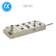 [무어] 58161 / 스위치/Unmanaged Switch / Tree 8TX IP67 Metal - Unmanaged Switch - 8xM12 / 8× M12 (female) 포트 / 1× M12 (male) - unmanaged 스위치