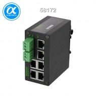 [무어] 58172 / 스위치/Unmanaged Switch / TREE 6TX METALL - UNMANAGED SWITCH - 6 PORTS / 6× RJ45 포트 - unmanaged 스위치