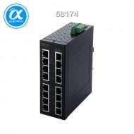 [무어] 58174 / 스위치/Unmanaged Switch / TREE 16 TX Metall 2GE 14 FE - Unmanaged Gigabit Switch - 16 Ports/ / 14× RJ45 포트(100M비트) + 2× RJ45 포트(1G비트)  -  unmanaged 스위치