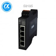 [무어] 58185 / 스위치/PROFINET-managed Switch / TREE PROFINET managed Switch  4x10/100BT IP20  plastic RJ45 / 4× RJ45