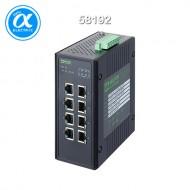 [무어] 58192 / 스위치/Unmanaged Switch((PoE) / 8 Port unmanaged Gigabit Switch 4 PoE Ports IP20 metal / 8 (4PoE) port  - 기가비트 - unmanaged switch