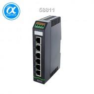 [무어] 58811 / 스위치/Unmanaged Switch / Xelity 6TX Unmanaged Switch 6 Port 100Mbit / 6× RJ45 포트(100M비트) - unmanaged 스위치