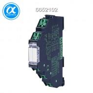 [무어] 6652102 / 릴레이 모듈 / MIRO 12.4 24VDC-2U OUTPUT RELAY / IN: 24 VDC - OUT: 250 VAC/DC / 6 A / 2 C/O contact - 6,2 mm spring clamp