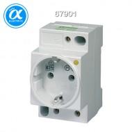 [무어] 67901 / 전원 콘센트 - 독일 표준(VDE) / MSVD POWER SOCKET VDE WITH LED / Mounting rail