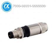 [무어] 7000-08331-0000000 / 커넥터/Signal / MOSA M8 MALE 0° FIELD-WIREABLE (IDC) / 3-pol., 0,14-0,34mm²