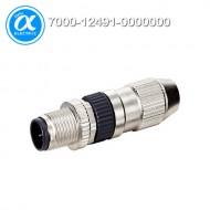 [무어] 7000-12491-0000000 / 커넥터/Signal / MOSA M12 MALE 0° FIELD-WIREABLE (IDC) / 4-pol., 0,14-0,34mm²