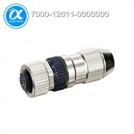 [무어] 7000-12611-0000000 / 커넥터/Signal / MOSA M12 FEMALE 0° FIELD-WIREABLE (IDC) / 4-pol., 0,14-0,34mm²