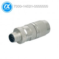 [무어] 7000-14521-0000000 / 커넥터/Data / MOSA M12 MALE 0° FIELD-WIREABLE (IDC) / D-cod., 4-pol., cable Ø 4.5...8.8 mm, 0.14-0.34mm², shielded / Ethernet CAT5