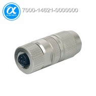 [무어] 7000-14621-0000000 / 커넥터/Data / MOSA M12 FEMALE 0° FIELD-WIREABLE (IDC) / D-cod., 4-pol., cable Ø 4.5...8.8 mm, 0.14-0.34mm², shielded / Ethernet CAT5